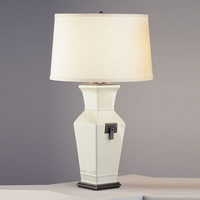 Robert Abbey Shaolin Table Lamp in Celadon Glazed Ceramic