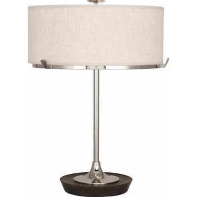 "Robert Abbey Edwin 21"" H Table Lamp with Drum Shade"
