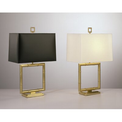 Robert Abbey Jonathan Adler Meurice Table Lamp in Antique Natural Brass