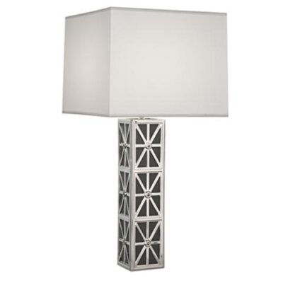 "Robert Abbey Mary McDonald Directorie 31.5"" H Table Lamp with Rectangle Shade"