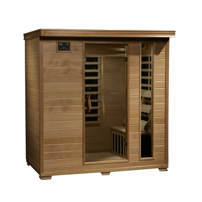 4-Person Carbon Infrared Sauna