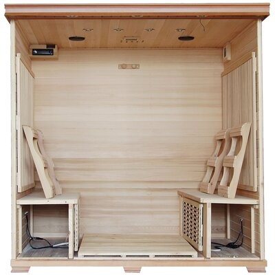 Radiant Saunas 6 Person Carbon FAR Infrared Sauna