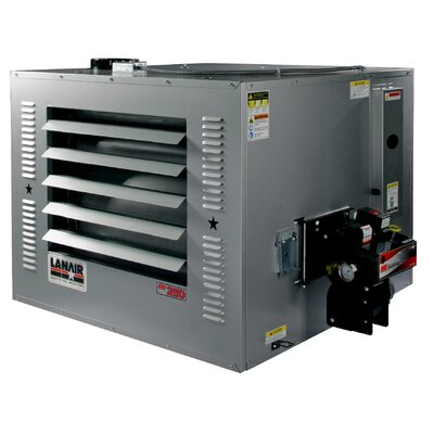 Lanair Products, LLC MX-Series 250,000 BTU Waste Oil Heater