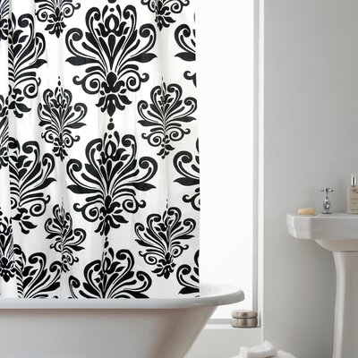 Modern Makeover Hookless Shower Curtain in Renaissance