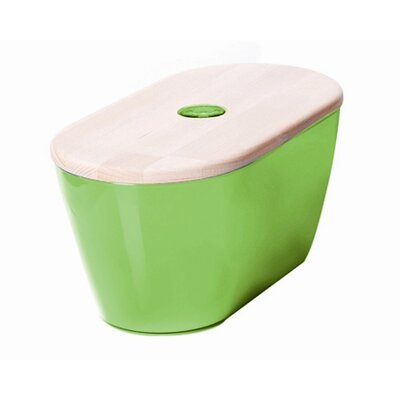 Omada Woody Bread Bin with Cover / Chopping Board
