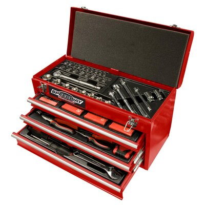 118 Piece 3 Drawer Tool Chest