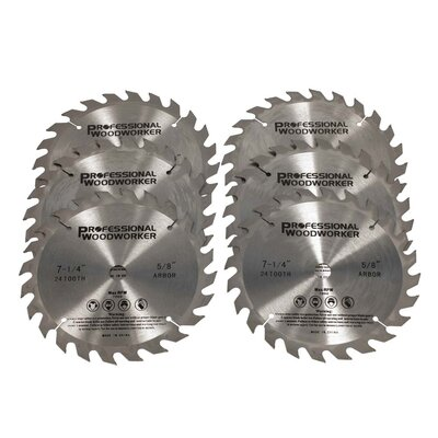 PROFESSIONAL WOODWORKER Tungsten Carbide Circular Saw Blade