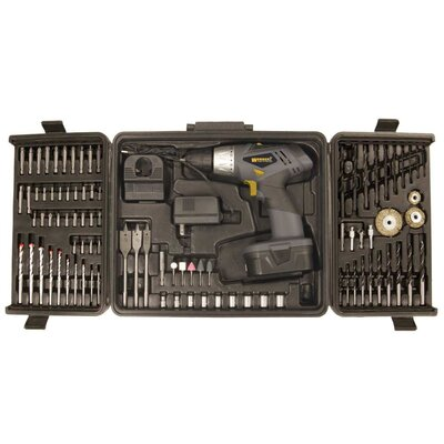 Worker Worker 91 Piece Two Speed Variable Trigger Drill Combo Kit
