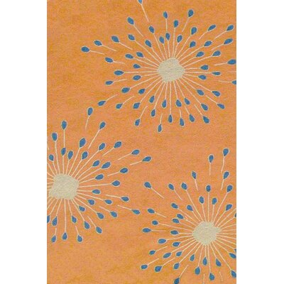 Duracord Outdoor Rugs Sawgrass Mills Sparkler Orange Rug