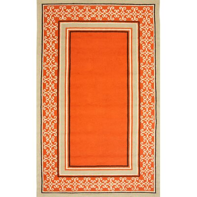 Sawgrass Mills Whimsy Orange Indoor/Outdoor Rug