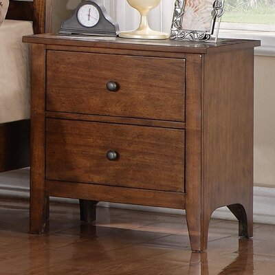 Carlisle Mosaic 2 Drawer Nightstand