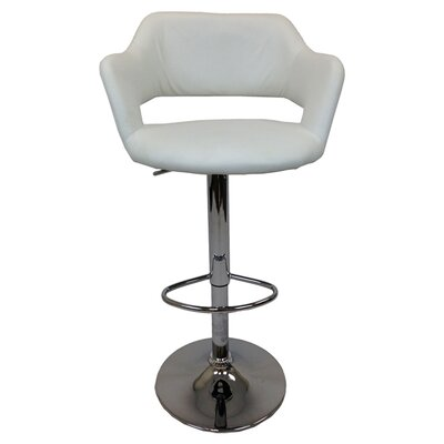 "<strong>Creative Images International</strong> 23"" Adjustable Bar Stool with Cushion"