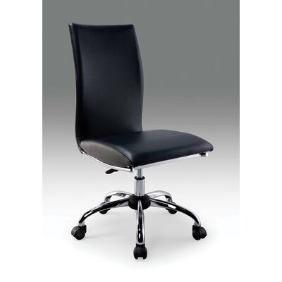 Creative Images International Leatherette Computer Chair