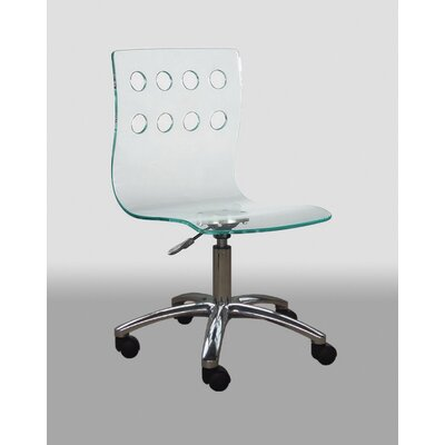 low back acrylic office chair features swivel chair swivel chair