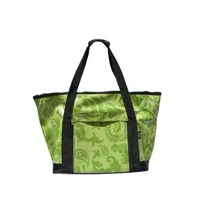 Tonal Picnic Tote in Green