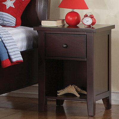 Vintage 1 Drawer Nightstand