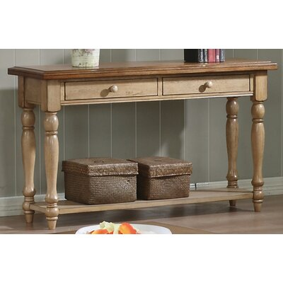 Winners Only Inc Quails Run Console Table Amp Reviews