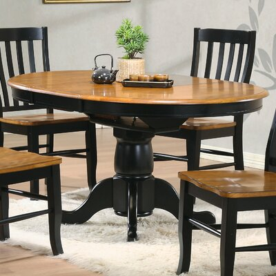 Kitchen pedestal table wayfair for Kitchen table only