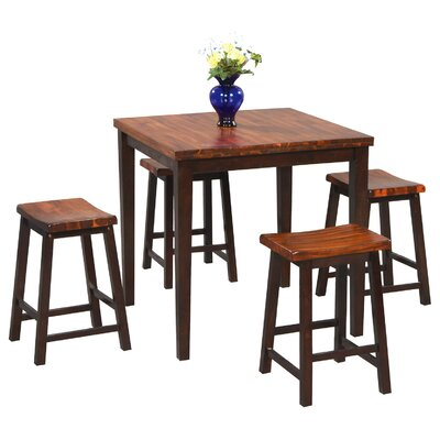 fifth avenue 5 piece counter height dining set reviews wayfair