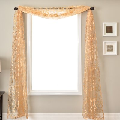 Softline Home Fashions Abel 6 Yard Window Scarf
