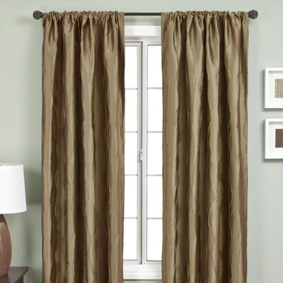 Softline Home Fashions Lula Rod Pocket Curtain Single Panel
