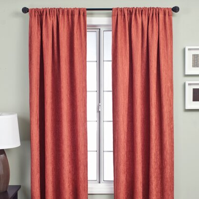 Softline Home Fashions Sacra Rod Pocket Curtain Single Panel