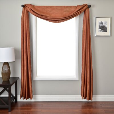Softline Home Fashions Iris 6 Yard Scarf in Sienna