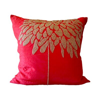 Bling Silk Coral Tree Pillow