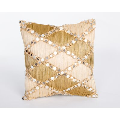 Sea Side Pleated Abaca Pillow