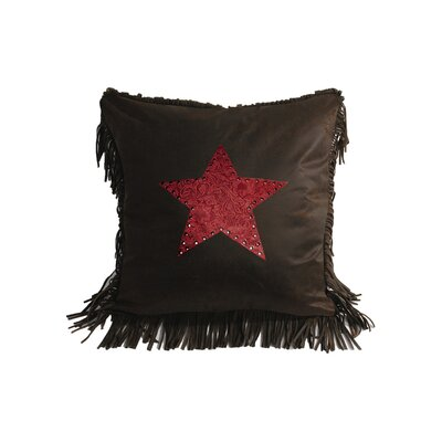 HiEnd Accents Cheyenne Star Polyester Pillow