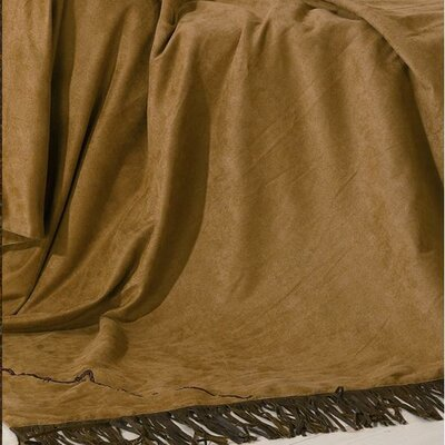 Barbwire Embroidered Polyester Throw