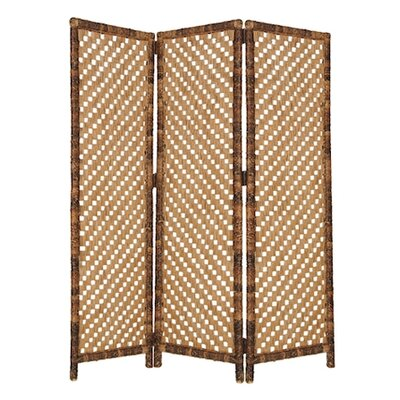 "Screen Gems 73"" Screen 3 Panel Room Divider"