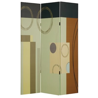 "Screen Gems 73"" Haily Screen 3 Panel Room Divider"
