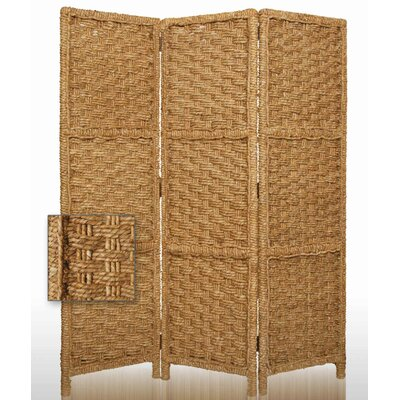 Sandstone Indoor / Outdoor Folding Decorative Room Divider (Set of 2)