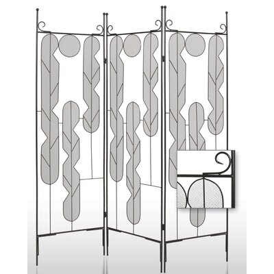 Iron Art Indoor / Outdoor Portable Room Divider