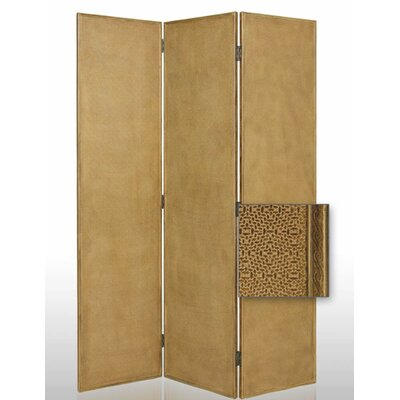 Screen Gems Crushed Bamboo Decorative Room Divider
