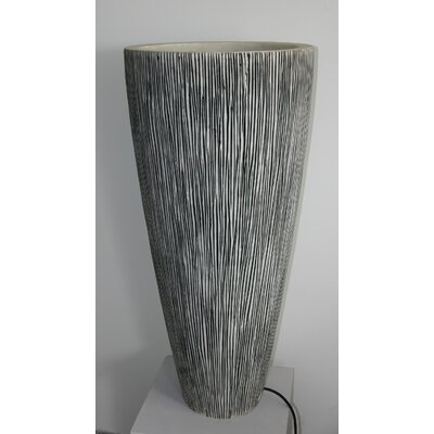 Screen Gems Sandstone Long Round Conical Planter
