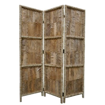 Screen Gems Coconut Fabric Indoor / Outdoor Decorative Room Divider