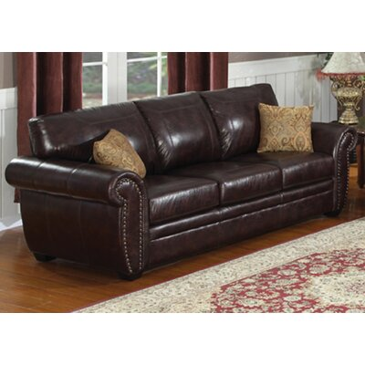 AC Pacific Louis Sofa and Loveseat Set