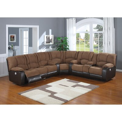 AC Pacific Jagger Reclining Sectional