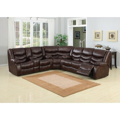 AC Pacific Pulsar Reclining Sectional