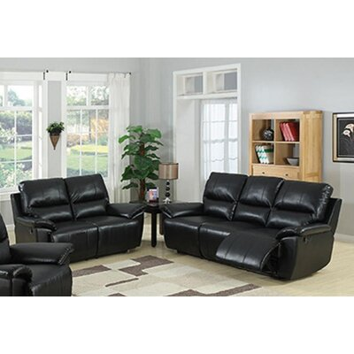 AC Pacific Javier Sofa and Loveseat Set