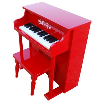 Schoenhut Traditional Spinet Piano in Red