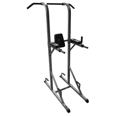 X-Mark Dip Station Power Tower with Pull Up Bar