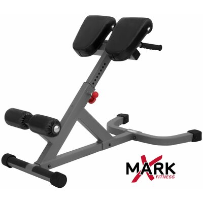X-Mark Commercial Back Hyperextension Bench