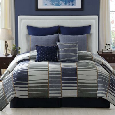 LaCozee Luke 8 Piece Comforter Set