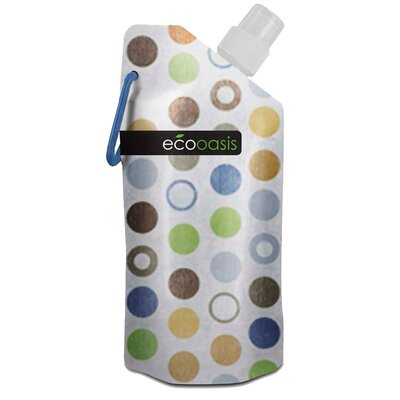 Smart Planet 16 oz. Eco Oasis Foldable Water Bottle