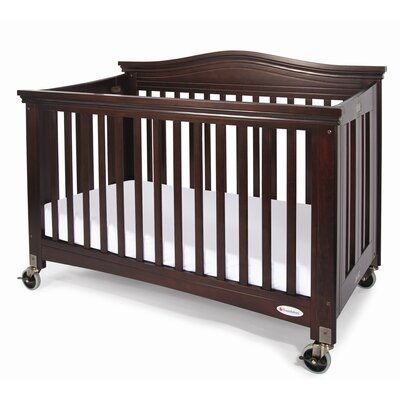 Foundations Royale Fixed Side Folding Full Crib