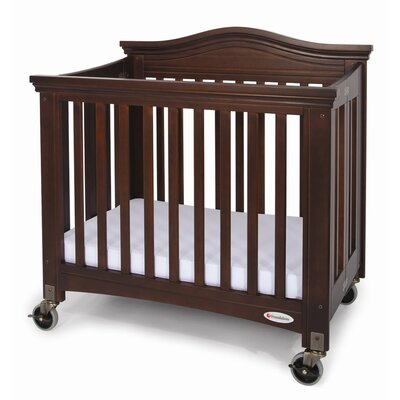 Foundations Royale Fixed Side Folding Compact Crib