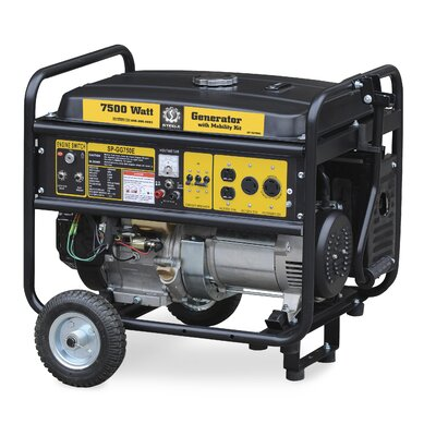 Steele Products 7,500 Watt Portable Electric Start Generator